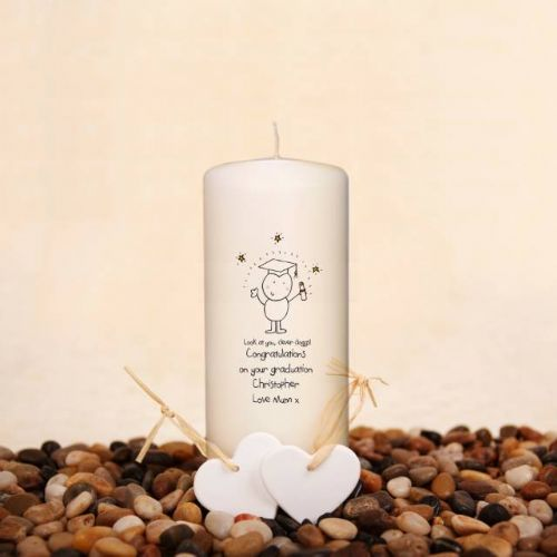 Chilli & Bubbles Graduation Candle